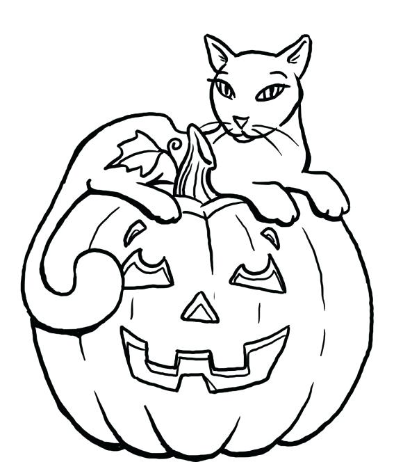 580x664 Halloween Cat Coloring Page Cat Coloring Pages Preschool In Tiny
