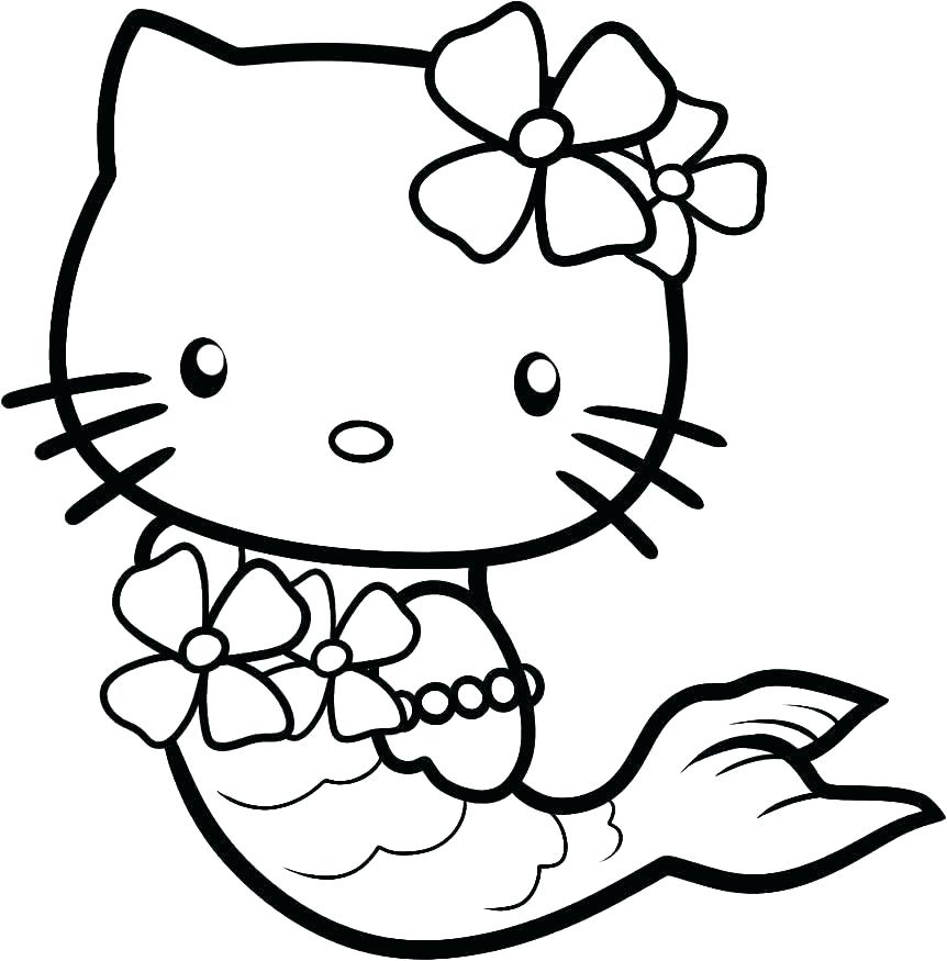862x875 Hello Kitty Valentines Day Coloring Pages Preschool To Cure Hello