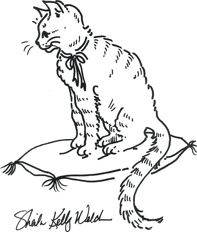 652x766 Cat Coloring Pages For Kids
