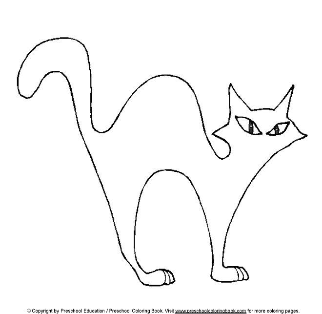 660x643 Halloween Cat Printables Fun For Christmas
