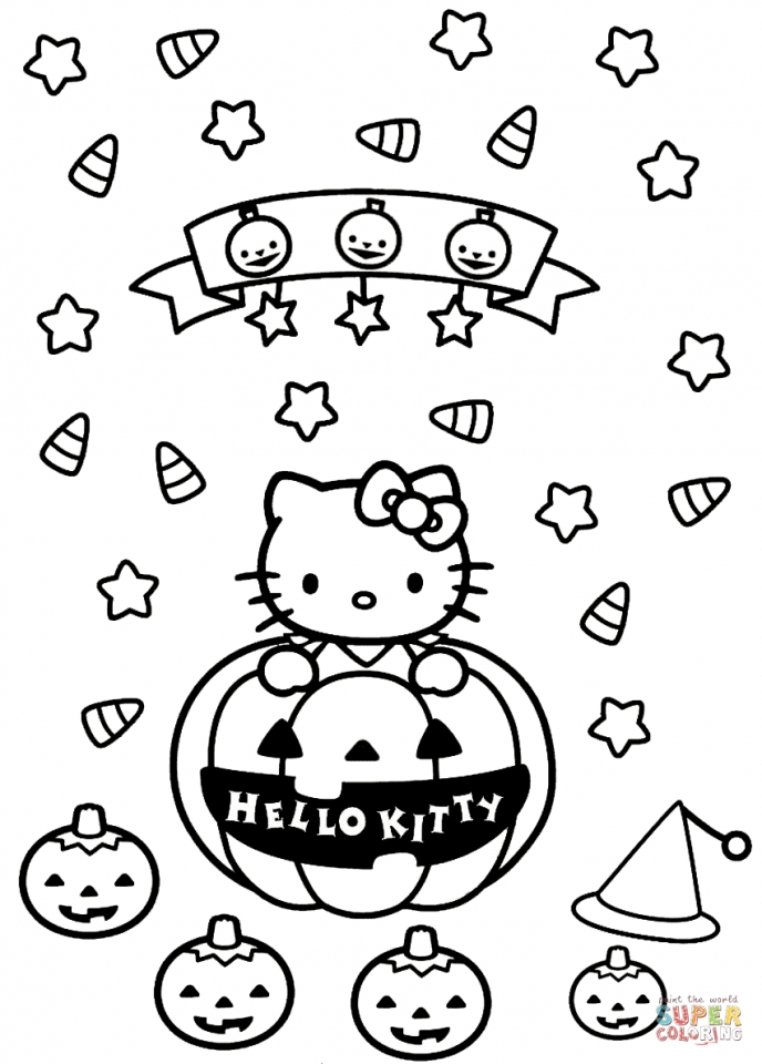 688x960 Get This Hello Kitty Coloring Pages Halloween !