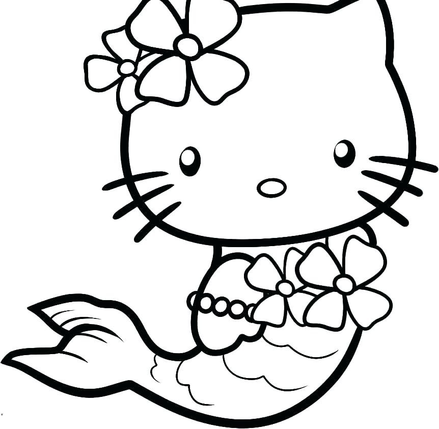 862x842 Kitty Coloring Page Hello Kitty Face Colouring Pages Inspirational