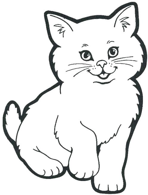 497x655 New Free Cat Coloring Pages Kids Puppy Love Of Kittens To Print