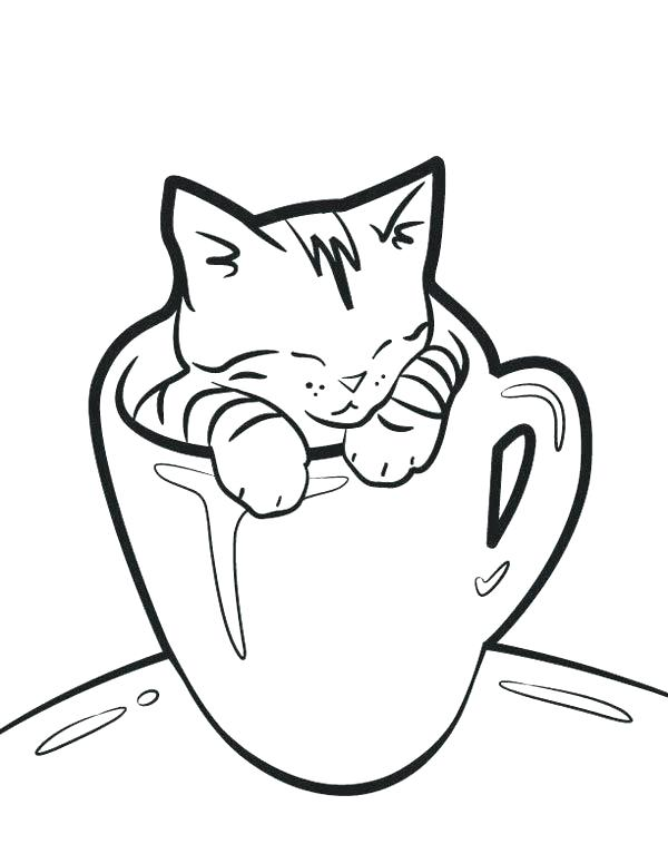 600x776 Black Cat Coloring Page Elegant Cat Printable Coloring Pages