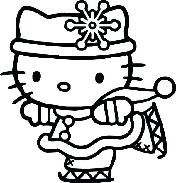 600x624 Hello Coloring Pages Printable Hello Kitty Coloring Pages Coloring