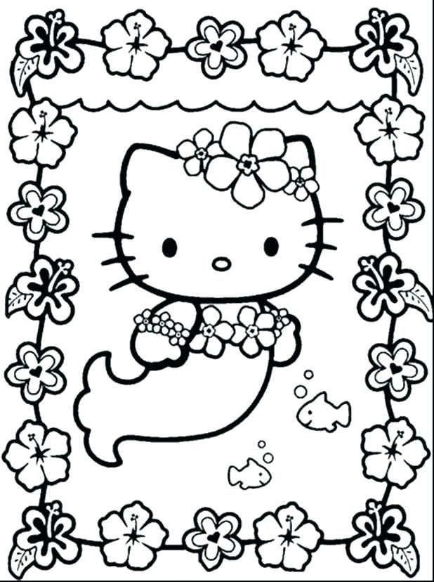618x828 Kitty Color Pages Hello Kitty Coloring Pages Online Hello Kitty