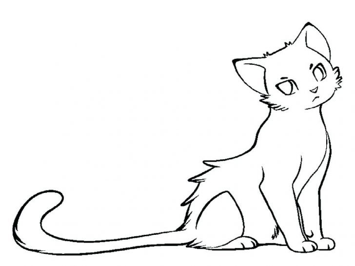 728x546 Warrior Cat Coloring Pages Online Warriors Cats Archives Kits Big