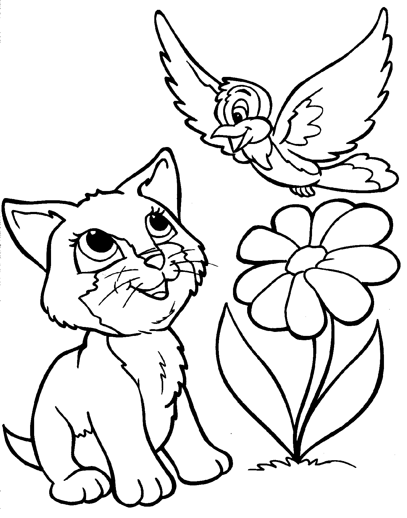 1324x1684 Kitty Cat Coloring Pages New Kitty Cat Coloring Pages Free