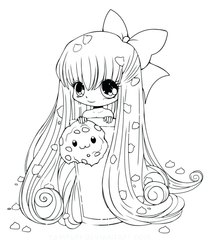 812x960 Chibi Coloring Page Kids Printable Coloring Pages Chibi Cat Girl