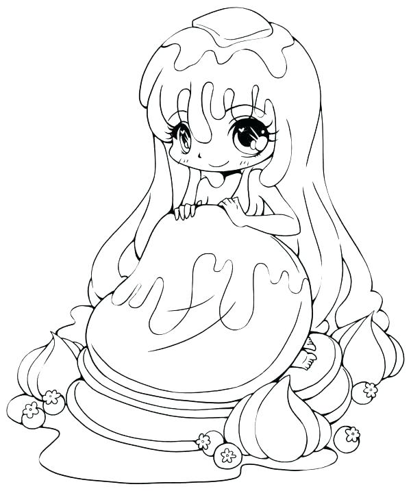 600x717 Anime Chibi Coloring Pages Anime Cat Girl Coloring Pages Cute