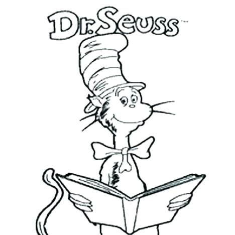 468x468 Cat The Hat Printable Hat Cat And The Hat Coloring Pages Cat