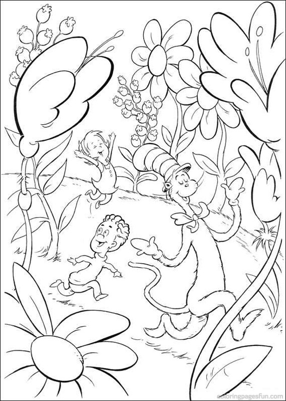 571x800 Dr Seuss Coloring Pages