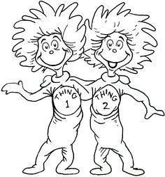 Cat In The Hat Coloring Pages Free At Getdrawings Com Free