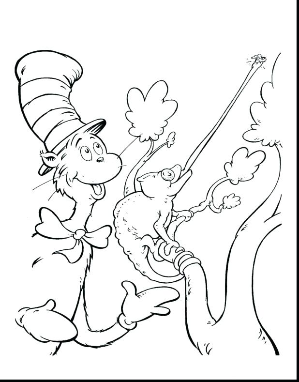 618x789 Cat In The Hat Coloring Page Cat In The Hat Hat Printable Cat