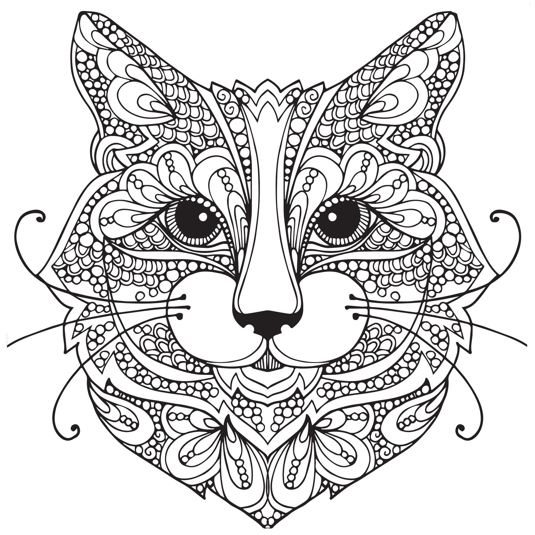 2048x2048 Jungle Cat Coloring Sheets Coloring Pages