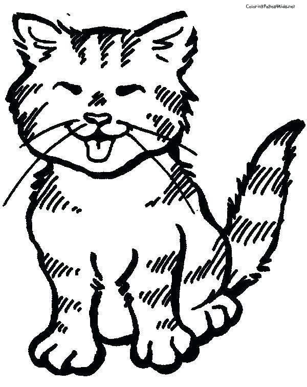 600x756 Cat Coloring Pages For Adults