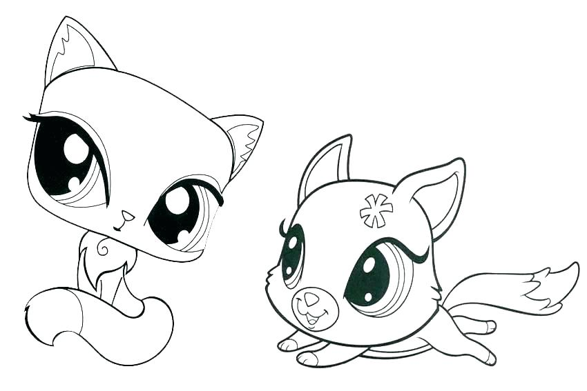 850x567 Cat Coloring Pages Printable Icontent