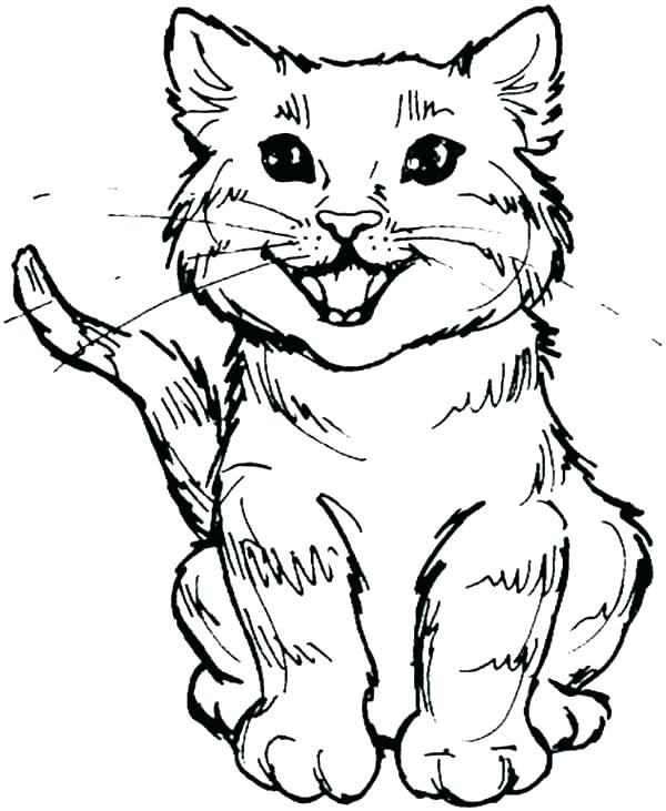 600x731 Cartoon Cat Coloring Pages Cats Coloring Pages Elegant Coloring