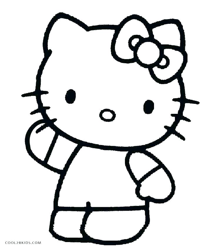711x850 Hello Kitty Valentines Day Coloring Pages Cat Emoji Coloring Pages