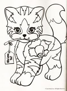 236x321 Lisa Frank Coloring Page Cats Lisa Frank, Free