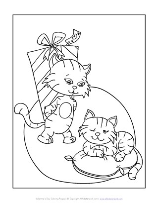 319x412 Valentines Day Coloring Pages All Kids Network