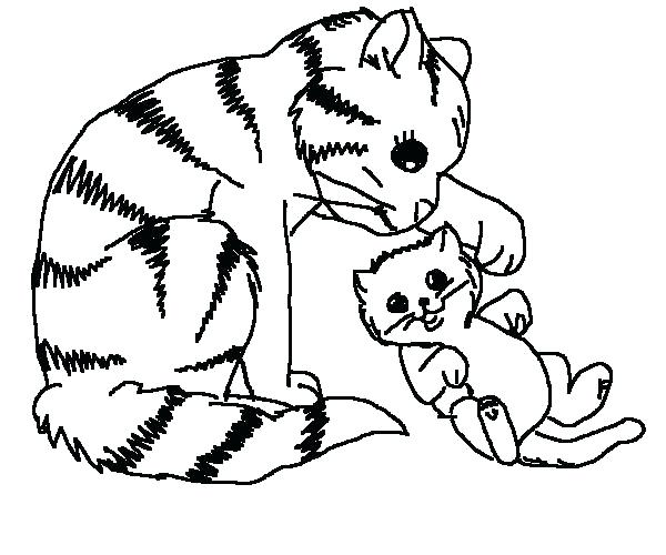 600x500 Cat Coloring Pages Free Printable Cat Coloring Pages Hello Kitty
