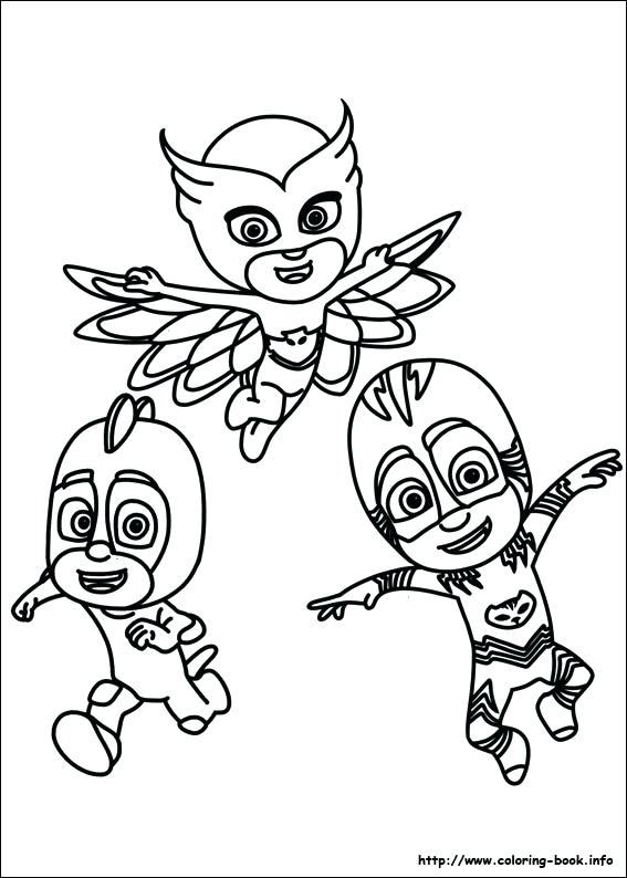 567x794 Ideas Pj Mask Coloring Pages Or Masks Coloring Pages Masks