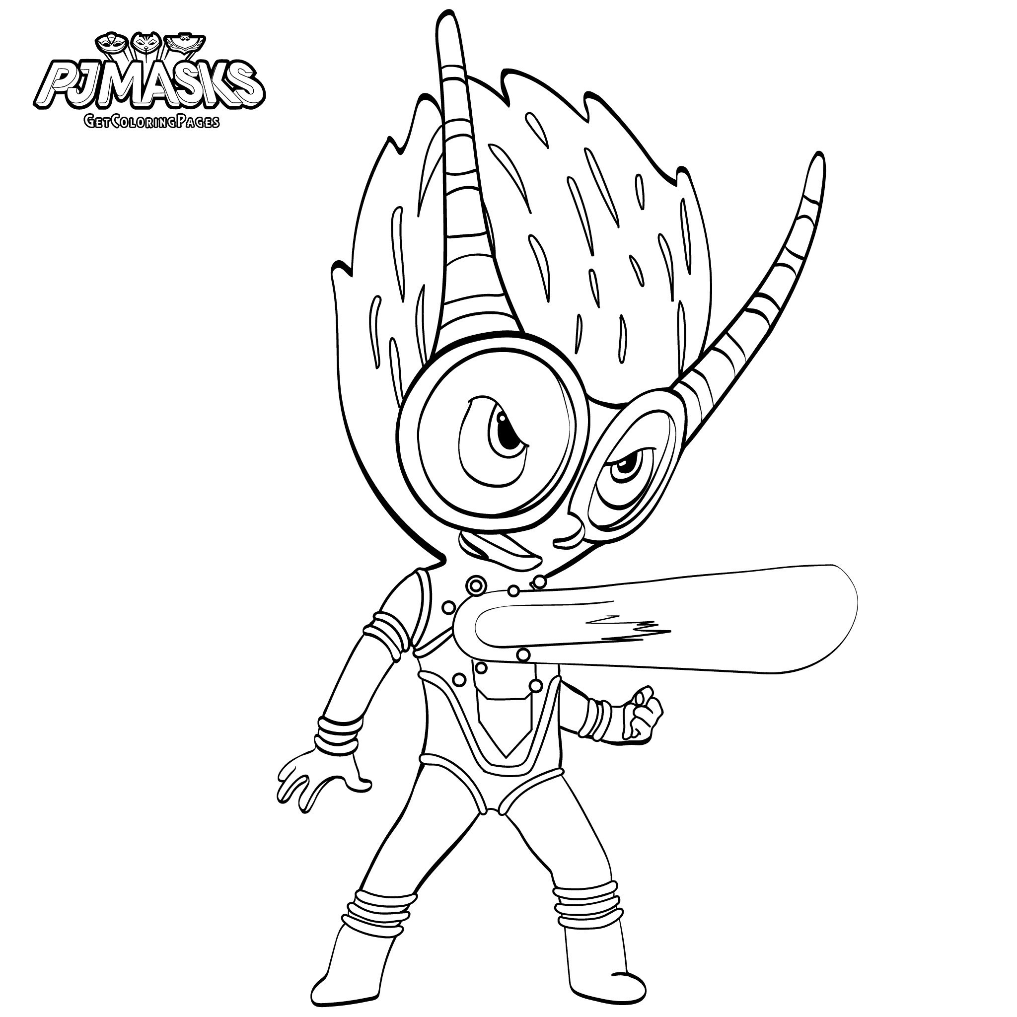2048x2048 Pj Masks Gecko Coloring Pages Copy Catboy From Pj Masks Coloring