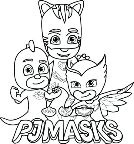 442x472 Catboy Coloring Page Masks Coloring Page Catboy Coloring Pages