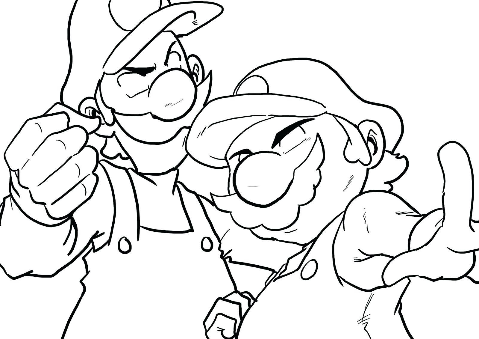 1600x1131 How To Draw Luigi Coloring Pages Thanksgiving Disney Bob
