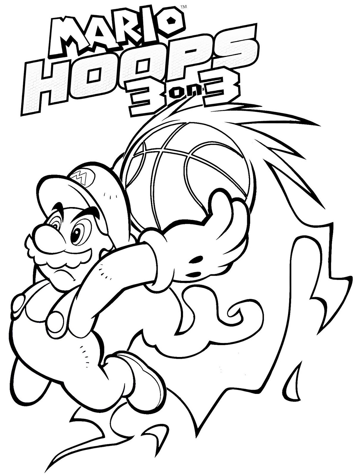 1200x1600 Mario Coloring Pages The Sun Flower Pages
