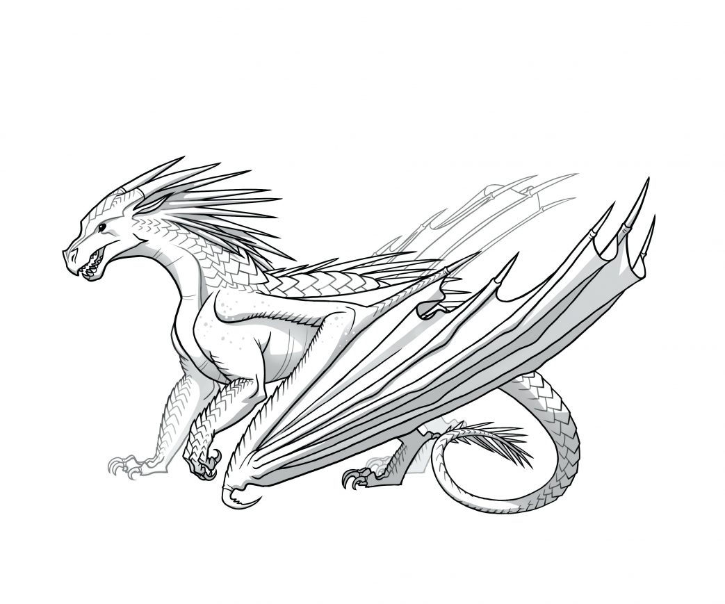 1043x869 Wings Of Fire Dragons Coloring Sheets Happy Real Dragon Pages