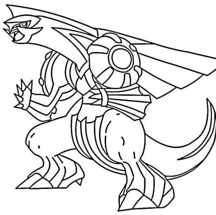 433x430 Caterpie Coloring Page
