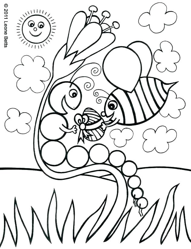 632x825 Very Hungry Caterpillar Coloring Page Modest Design Very Hungry