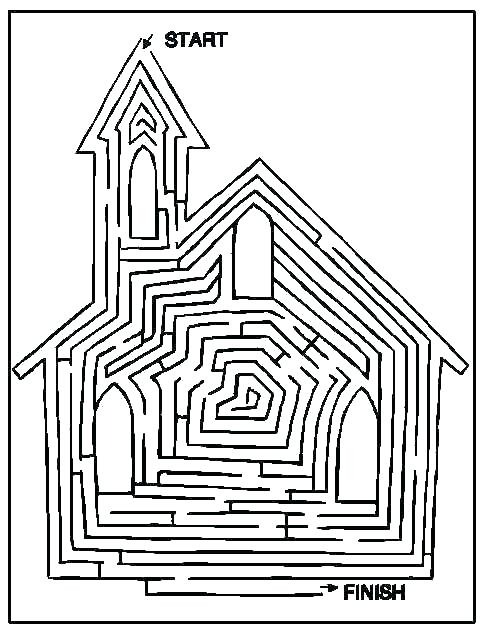 482x632 Church Coloring Pages Church Coloring Page Catholic Church