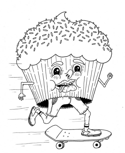 500x611 Weird Coloring Pages