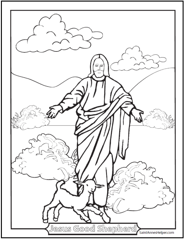 Catholic Church Coloring Pages