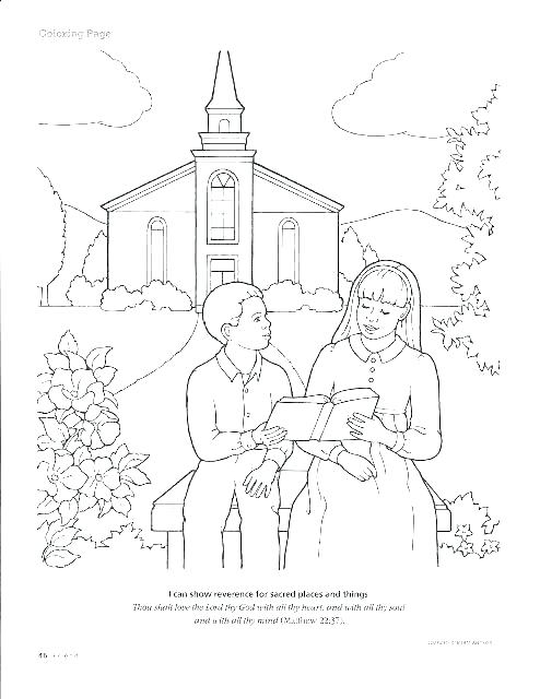 494x640 Church Coloring Pages Church Coloring Page Catholic Church