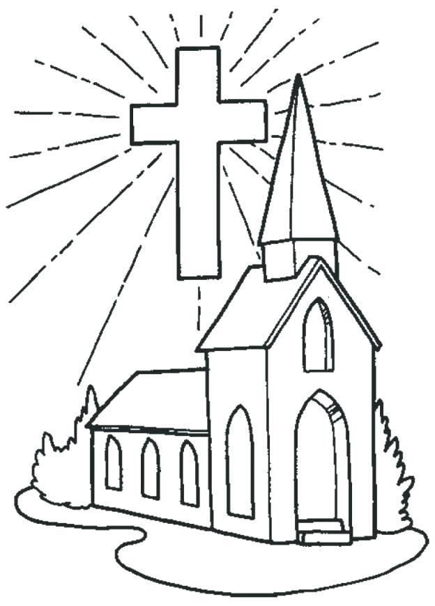 624x870 Church Coloring Pages Church Coloring Pages To Print And Print