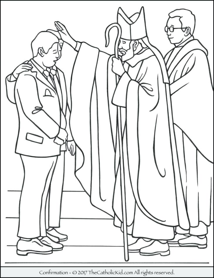730x945 Seven Sacraments Coloring Pages Church Coloring Pages Printable
