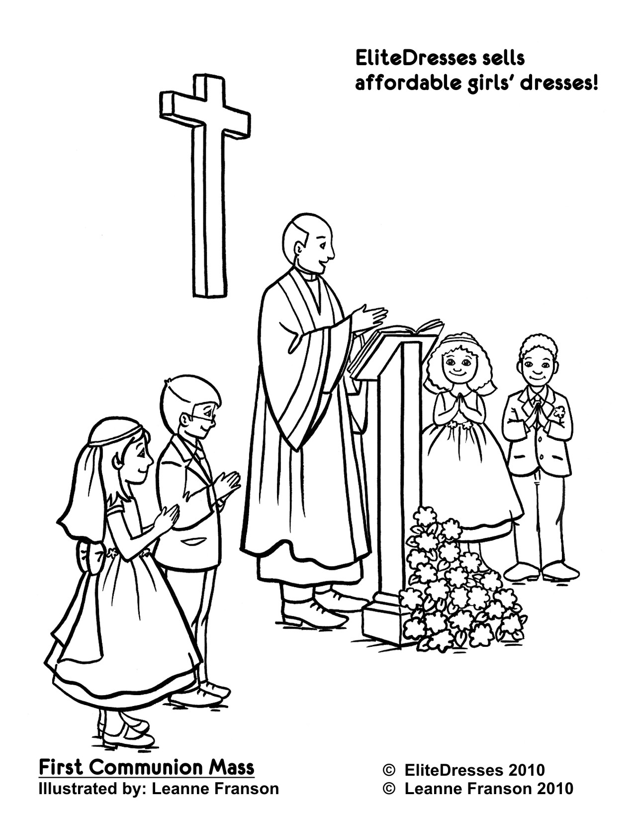 Catholic Coloring Pages For Kindergarten at GetDrawings.com | Free ...