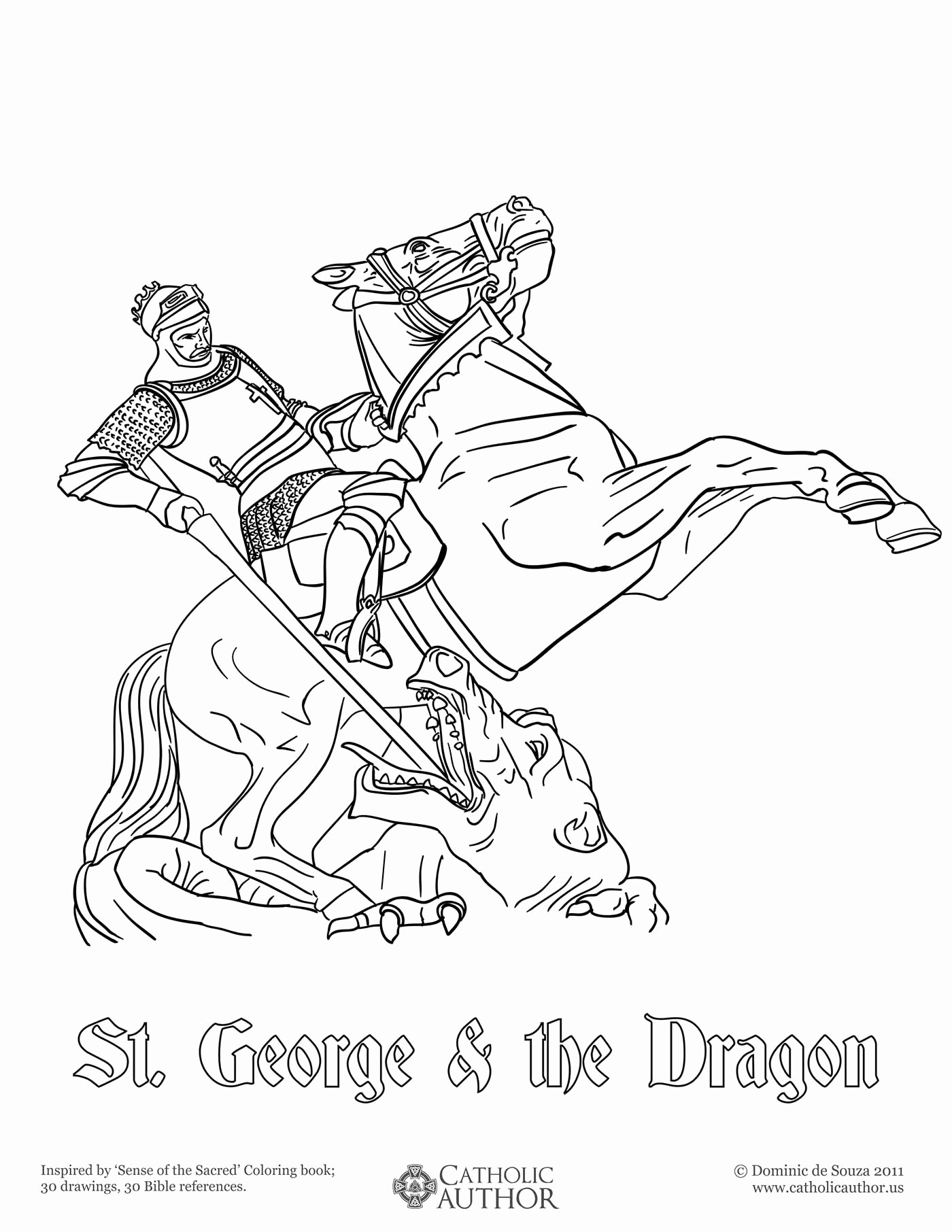 1400x1812 Coloring Pages Dragons New St George The Dragon Free Hand Drawn