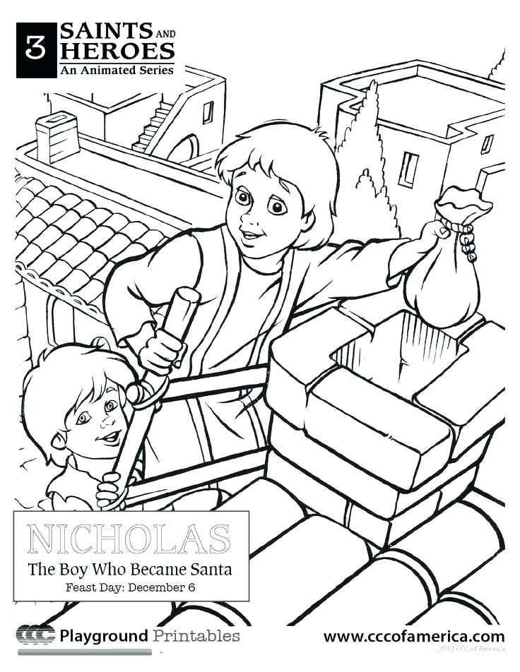 736x952 Free Catholic Coloring Pages St Of Images Paper Free Catholic