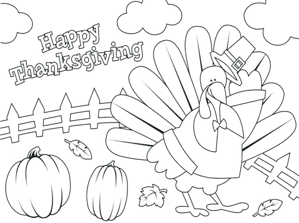 970x726 Imposing Design Free Printable Thanksgiving Coloring Pages Best
