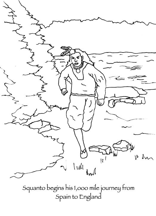 523x720 The Spanish Catholic Monks Helped Squanto Begin A Thousand Mile