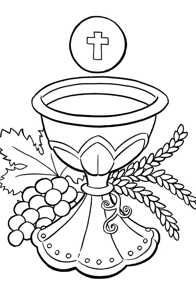 640x960 Catholic Coloring Pages