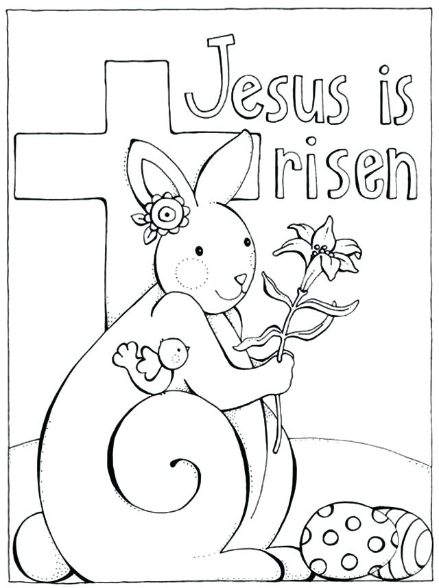 640x857 Free Catholic Coloring Pages