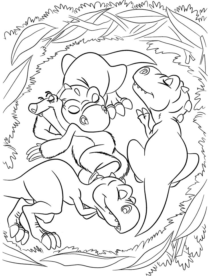 Catoon Coloring Pages