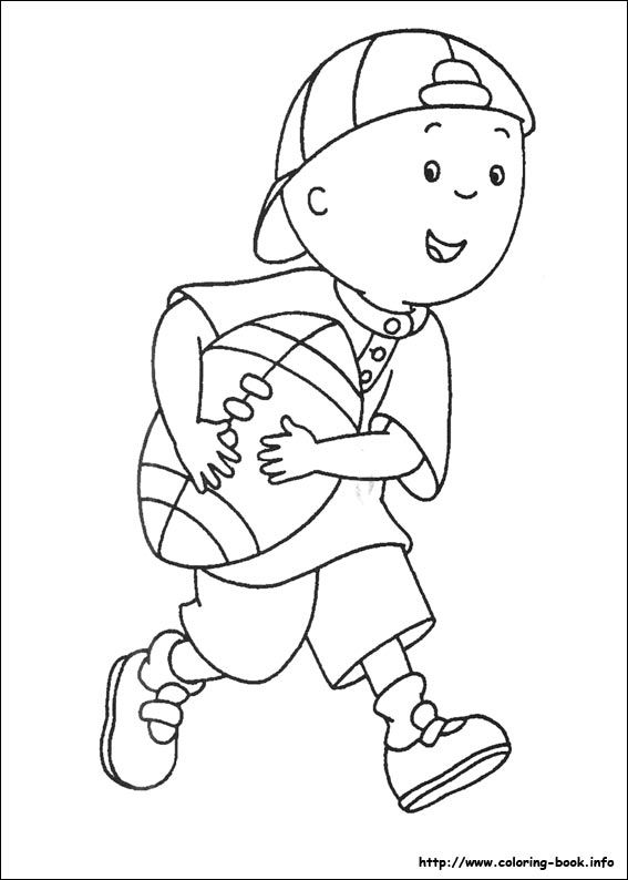 567x794 Best Caillou Coloring Pages Images On Caillou