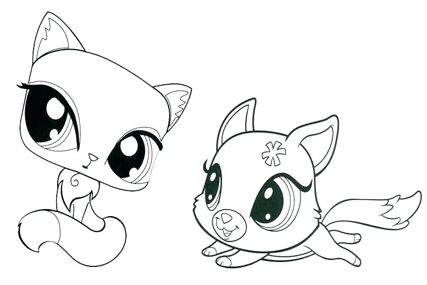 850x567 Cat Coloring Pages For Adults